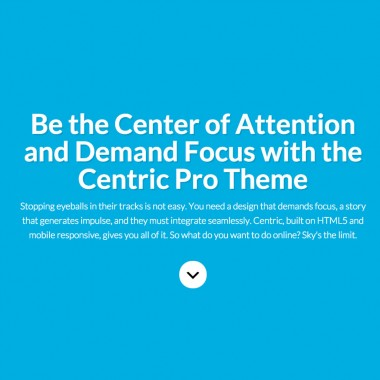Centric Pro Theme Examples