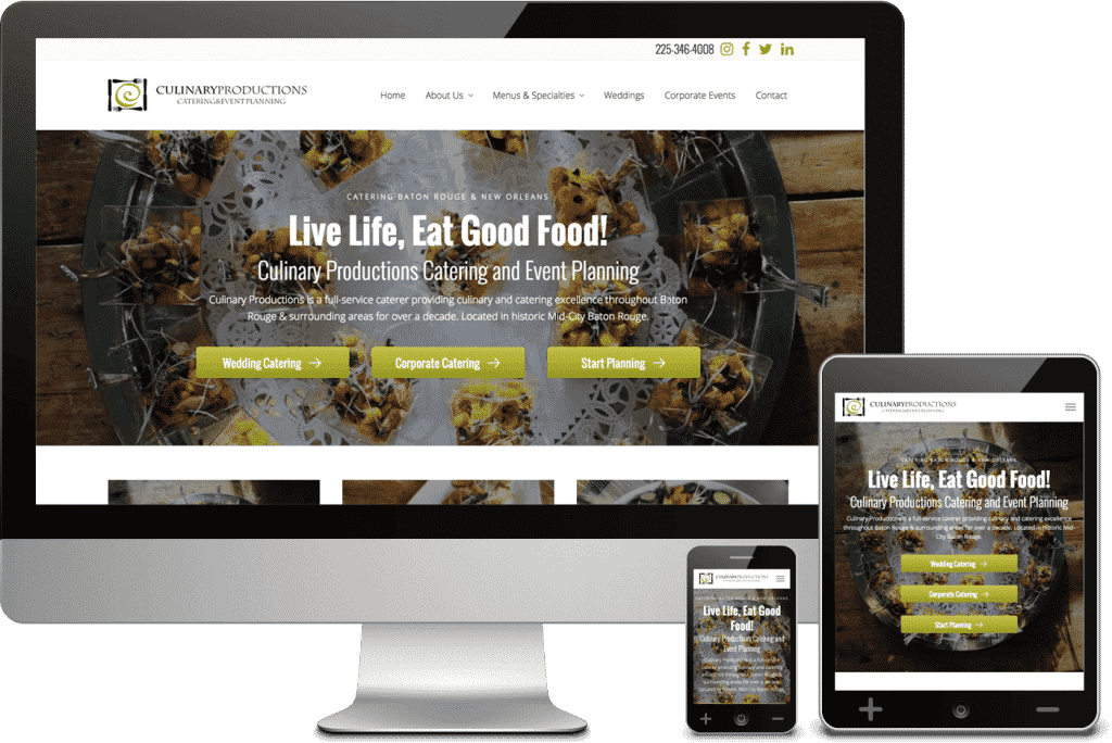 Mai Lifestyle Pro (Mai Delight) Theme Example - Culinary Productions